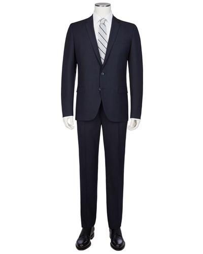 home herren bekleidung anz ge hugo boss slim fit anzug aus schurwolle. Black Bedroom Furniture Sets. Home Design Ideas