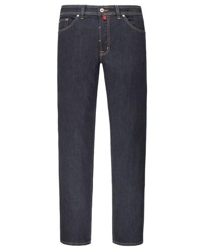 pierre cardin herren warme thermo jeans marine von pierre cardin reduziert. Black Bedroom Furniture Sets. Home Design Ideas