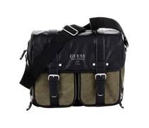 GUESS Street Fighting Messenger Bag Unisex grau