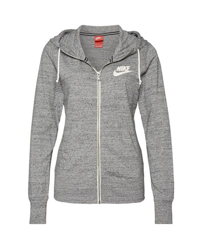 nike damen nike sweatjacke gym vintage melange reduziert. Black Bedroom Furniture Sets. Home Design Ideas
