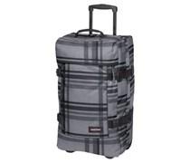 EASTPAK Tranverz M Checkcedent Reisetasche mit Rollen 36 cm Unisex checkci grey Polyester
