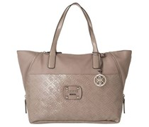 GUESS Shopper Squad Beige allover gemustert