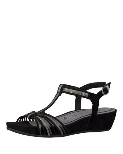 tamaris damen tamaris sandaletten 20 reduziert. Black Bedroom Furniture Sets. Home Design Ideas