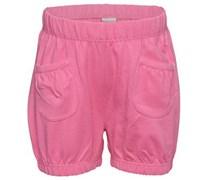 s.Oliver Shorts, kleiner Aufdruck hinten, elastische Bündchen Baby Pink uni Kurz