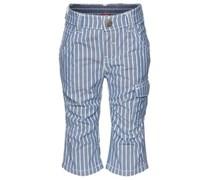 KANZ Little Scooter Hose, Streifen-Design, mit Gürtel Baby Blau gestreift Lang