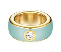 Esprit Stahl Damenring Fancy vergoldet Mint ESRG1219401 Damen Grün