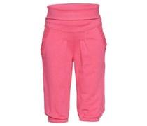 s.Oliver Hose, breiter Bund, Zierbordüren Baby Pink uni Lang