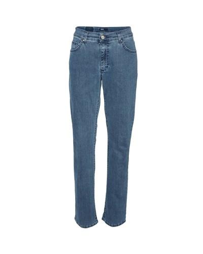 angels jeans dolly 53 damen blau uni lang. Black Bedroom Furniture Sets. Home Design Ideas