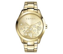 Esprit Damenuhr Esmee vergoldet ES107282005  Damen Gold