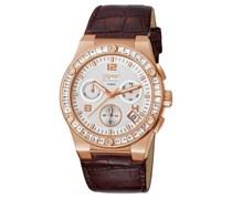 Esprit Damen-Chronograph Pherousa Rose-Brown EL101822F07 Unisex Braun