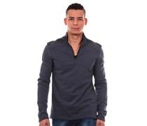 EXUMA Sweatshirt mit Stehkragen slim fit