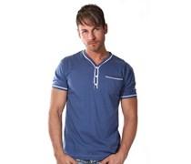 EXUMA Henley T-Shirt