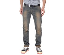 BRIGHT FASHION Hüftjeans (stretch) slim fit