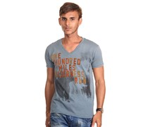 REPLAY T-Shirt V-Ausschnitt slim fit
