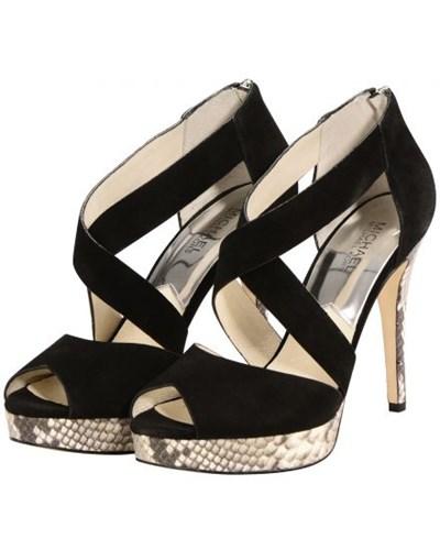 michael kors damen michael kors ariel sandaletten reduziert. Black Bedroom Furniture Sets. Home Design Ideas