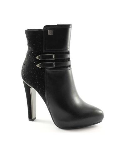 laura biagiotti damen laura biagiotti stiefelletten 1415 schwarz zip stiefel frauen buchse ferse. Black Bedroom Furniture Sets. Home Design Ideas