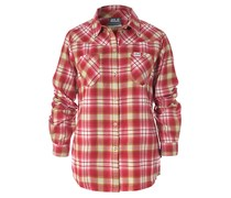 JACK WOLFSKIN Funktionsbluse Gifford, Farbe rot