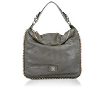 Guess Deputy Large Hobo Taupe Handtaschen