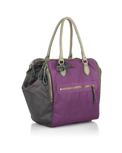 liebeskind damen holiday bag nylon violet henkeltasche. Black Bedroom Furniture Sets. Home Design Ideas