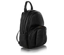 Dumbo Backpack Black Pebbled Antique Brass Umhängetasche von Alexander Wang, in schwarz