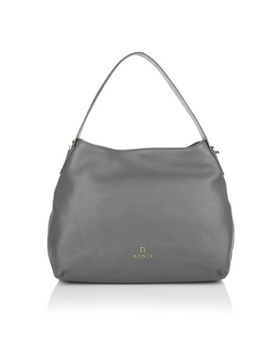 aigner damen aigner umh ngetasche sefora hobo bag vulcano in grau taschen f r damen. Black Bedroom Furniture Sets. Home Design Ideas