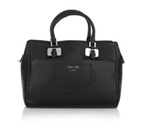 Guess Lula Girlfriend Satchel Black Handtaschen