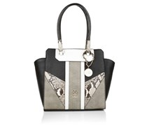 Guess Paxton Avery Satchel Black Multi Handtaschen