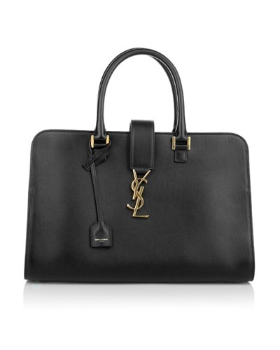 saint laurent damen saint laurent tasche ysl monogramme box laque bag black in schwarz aus. Black Bedroom Furniture Sets. Home Design Ideas