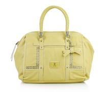 Guess Road Trip Large Frame Satchel Lemon Handtaschen