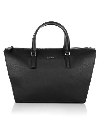 calvin klein damen calvin klein kate duffle bag black handtaschen reduziert. Black Bedroom Furniture Sets. Home Design Ideas
