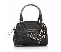 Guess Liane Amour Dome Satchel Black Handtaschen