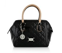 Guess Juliet Frame Satchel Black Handtaschen