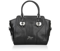 Guess Confidential Avery Satchel Black Handtaschen