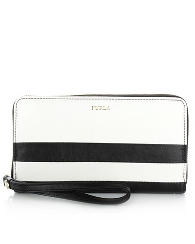 Wallet Grafismi Manicotto Latte+Onyx