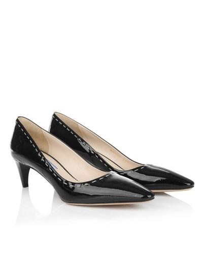prada damen prada vernice calzature donna nero schuhe reduziert. Black Bedroom Furniture Sets. Home Design Ideas