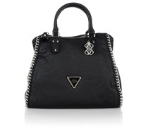 Guess Ashbury Retro Satchel Black Handtaschen