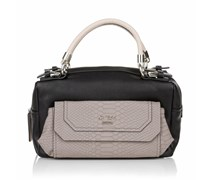 Guess Berry Cute Box Satchel Black Handtaschen