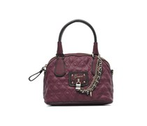 SALE - 40%. Guess - Liane Dome Satchel - Handtaschen für Taschen / weinrot