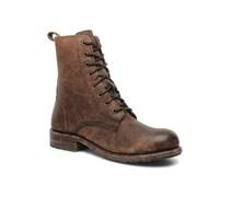 Frye - Rogan Tall lace up - Stiefeletten & Boots für Herren / braun
