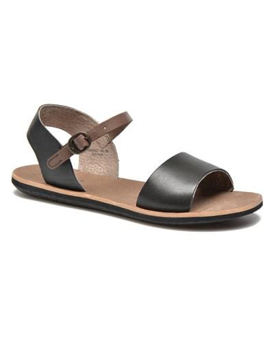 kickers damen kickers sparty sandalen f r damen schwarz reduziert. Black Bedroom Furniture Sets. Home Design Ideas