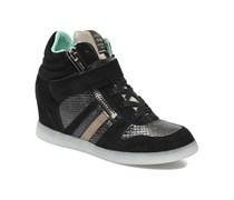SALE - 40%. Serafini - Manhattan Caiman - Sneaker für Damen / schwarz