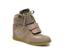 SALE - 40%. Serafini - Manhattan Metal - Sneaker für Damen / beige