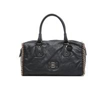SALE - 50%. Guess - Deputy Box Satchel - Handtaschen für Taschen / schwarz