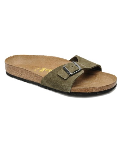 birkenstock herren sale 40 birkenstock madrid velours m sandalen f r herren gr n 40. Black Bedroom Furniture Sets. Home Design Ideas