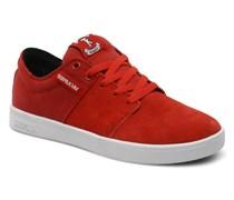 Supra - The Stacks - Sneaker für Herren / rot