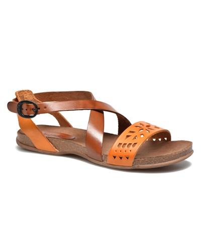 kickers damen kickers analog sandalen f r damen orange reduziert. Black Bedroom Furniture Sets. Home Design Ideas