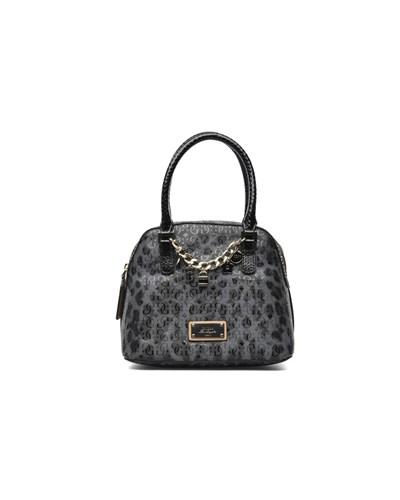 guess damen guess capri cruz dome satchel handtaschen. Black Bedroom Furniture Sets. Home Design Ideas