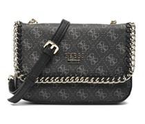 SALE - 40%. Guess - Confidential chain Crossbody flap - Handtaschen für Taschen / schwarz