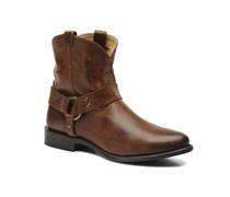 Frye - Wyatt Harness Short - Stiefeletten & Boots für Damen / braun