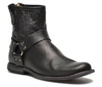 Frye - Phillip Harness M - Stiefeletten & Boots für Herren / schwarz
